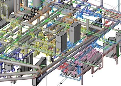 OPG Mechanical Room 'As-Built' Drawings,  700 University Avenue