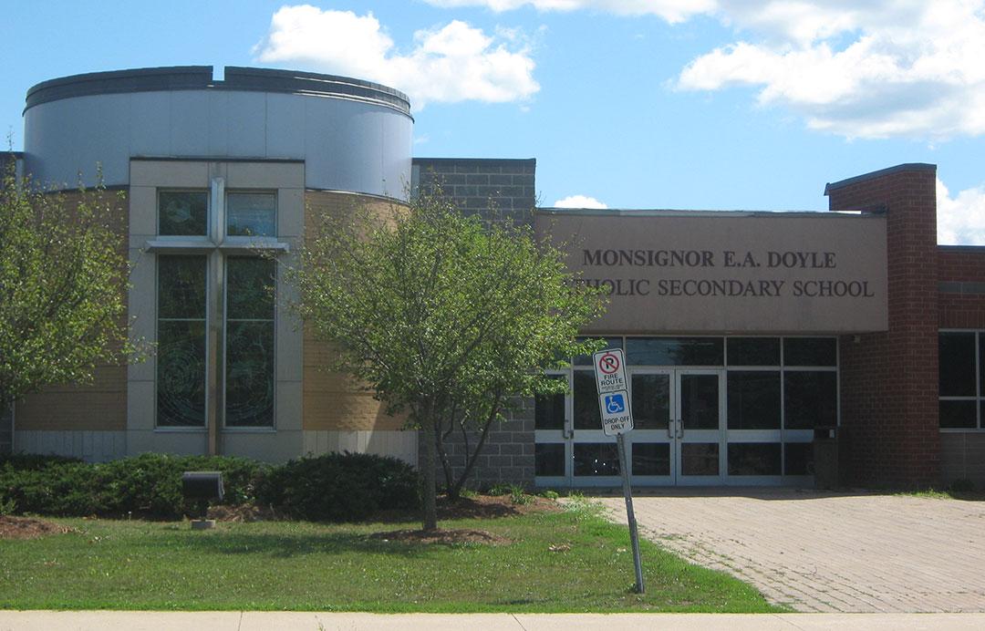 St Agnes Elementary Monsignor Doyle Secondary Canadian