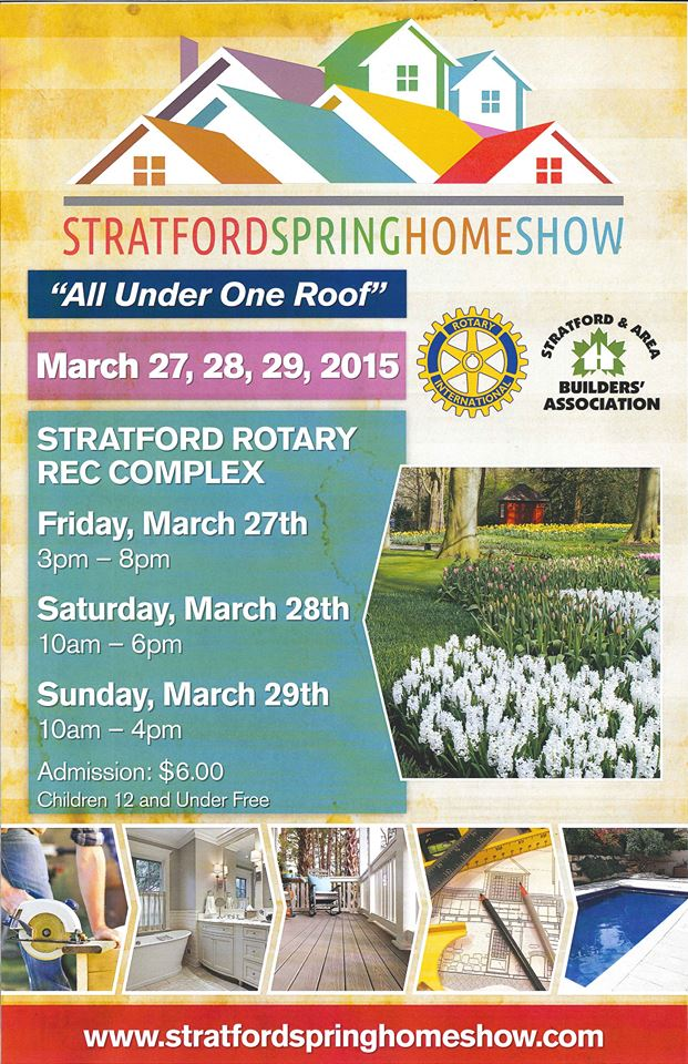 Stratford Spring Homeshow 2015