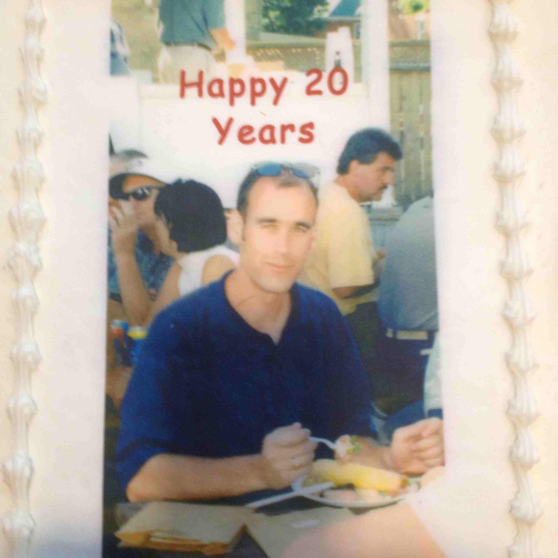 Brad 20 Celebration Cake