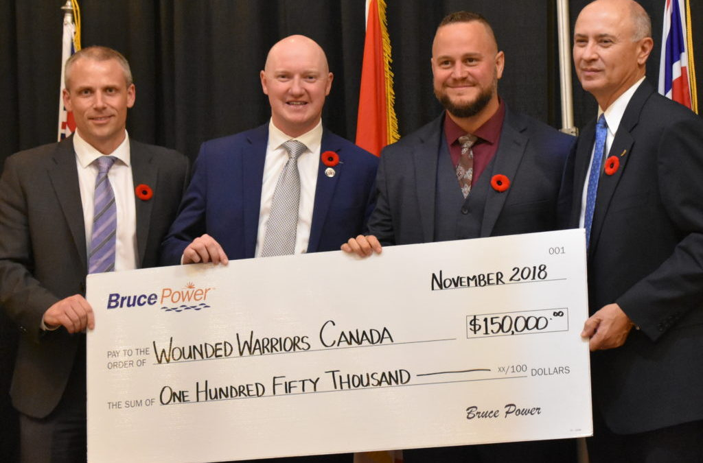 NA Engineering Associates Inc. Supports Bruce Power Gala for Wounded Warriors Canada